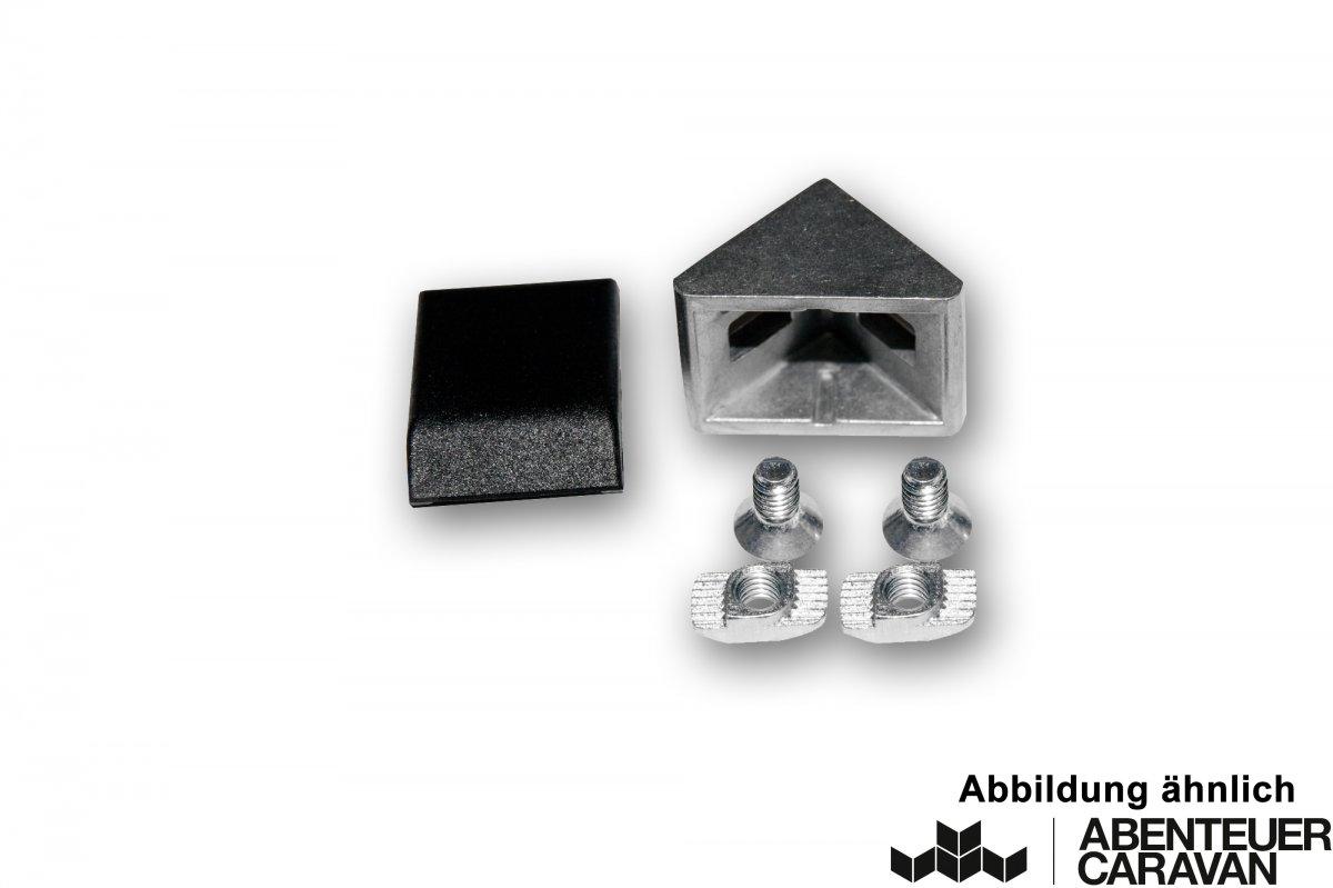 Eckverbinder Set 20x20 mm