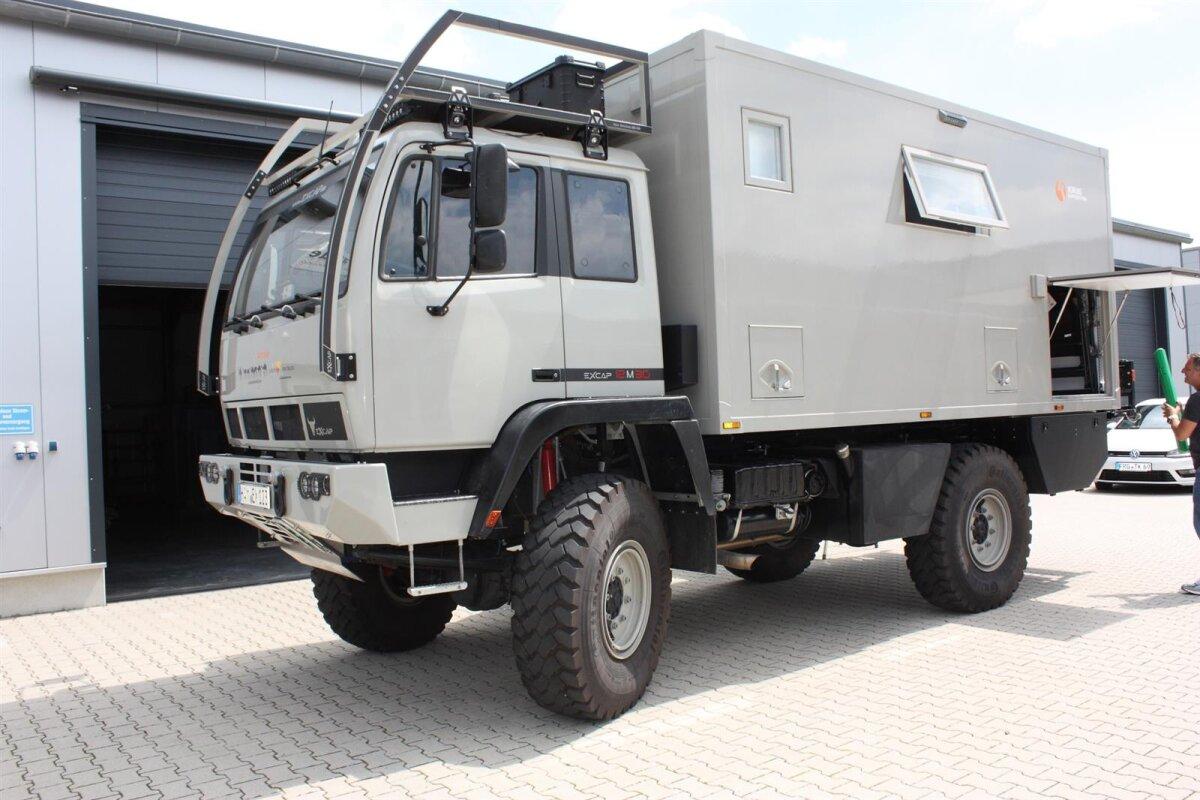 Excap Steyr 12M30 4x4 Wohnmobil-1